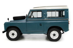 1964  Land Rover Series IIA Restored + Utility Trailer $34.5k