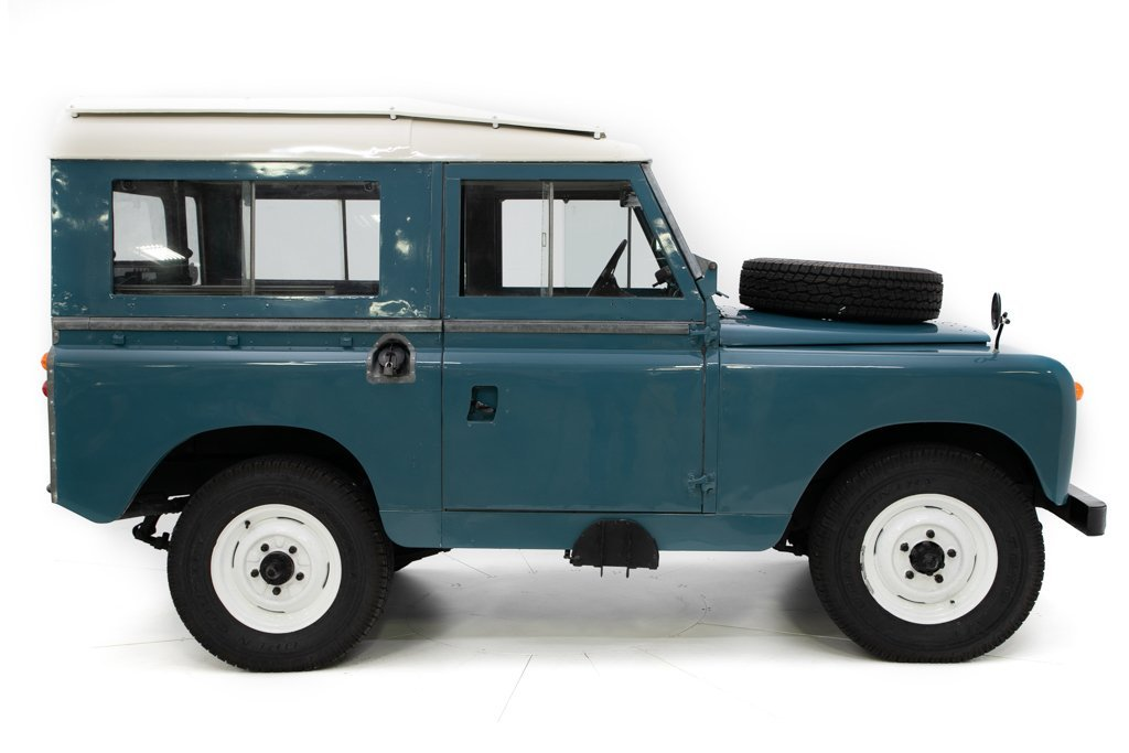 1964 Land Rover Series IIA Restored + Utility Trailer $34.5k For Sale (picture 2 of 6)