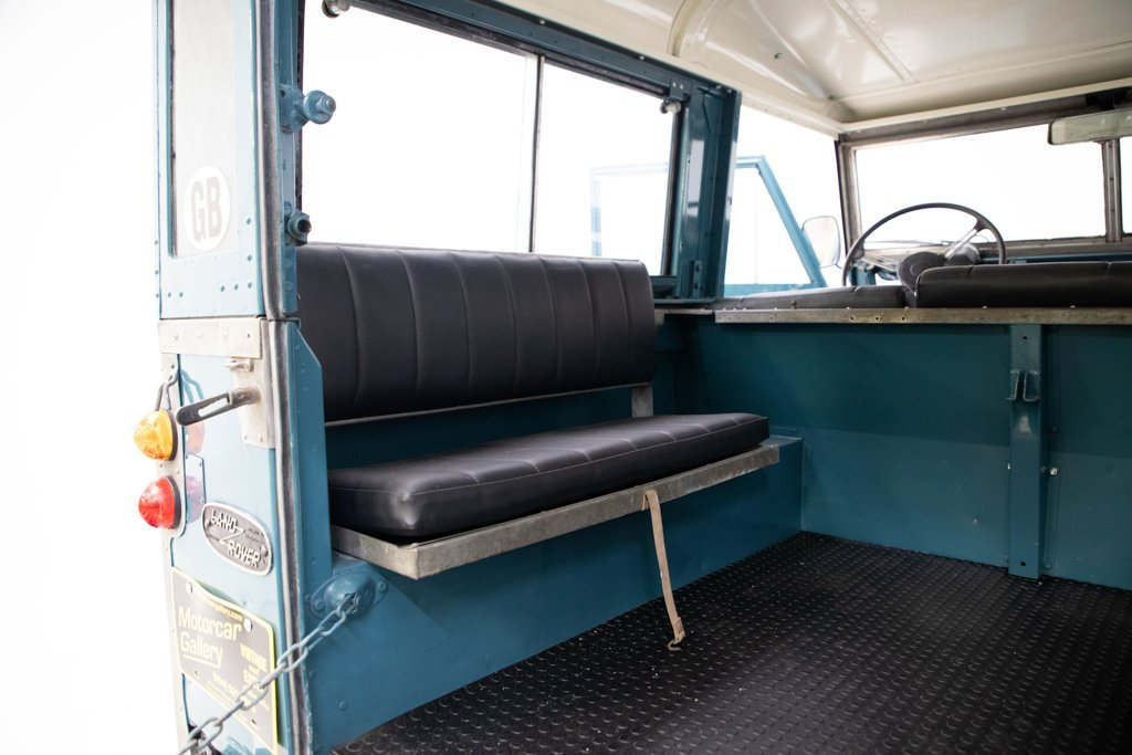 1964 Land Rover Series IIA Restored + Utility Trailer $34.5k For Sale (picture 4 of 6)