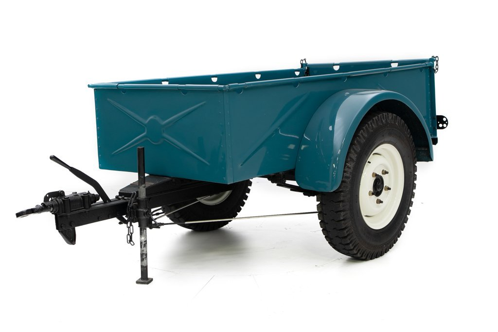 1964 Land Rover Series IIA Restored + Utility Trailer $34.5k For Sale (picture 5 of 6)
