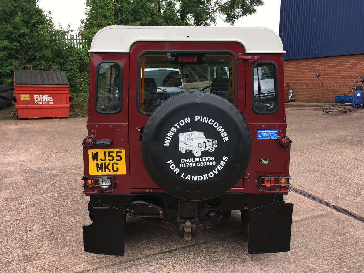 2005 Land Rover Defender 90 2.5 TD5 Station Wagon, Low Miles For Sale (picture 2 of 6)