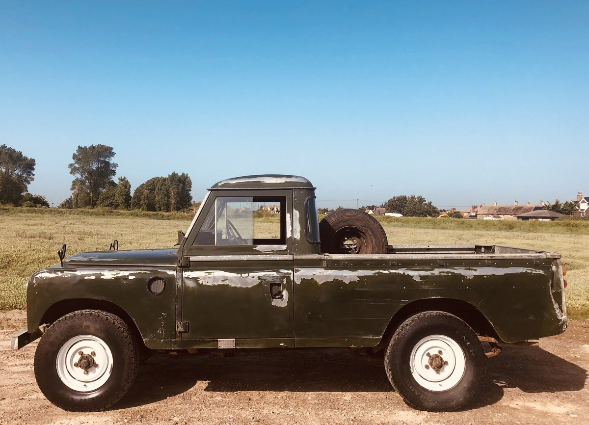 1975 Cool Land Rover Series 3 -54k  miles.3 owners. SOLD (picture 1 of 6)
