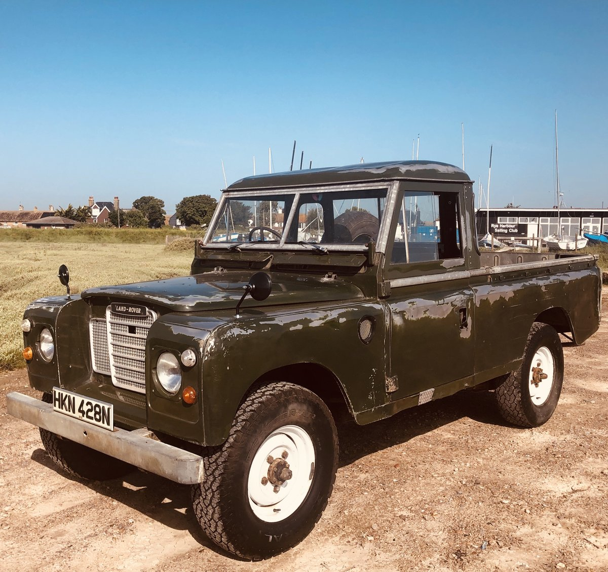 1975 Cool Land Rover Series 3 -54k  miles.3 owners. SOLD (picture 2 of 6)