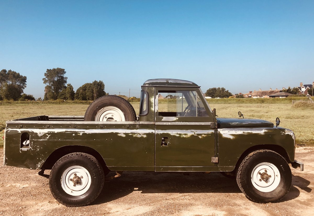1975 Cool Land Rover Series 3 -54k  miles.3 owners. SOLD (picture 3 of 6)