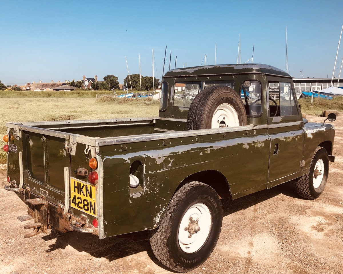 1975 Cool Land Rover Series 3 -54k  miles.3 owners. SOLD (picture 4 of 6)