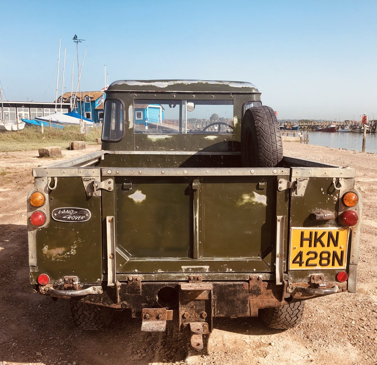 1975 Cool Land Rover Series 3 -54k  miles.3 owners. SOLD (picture 5 of 6)