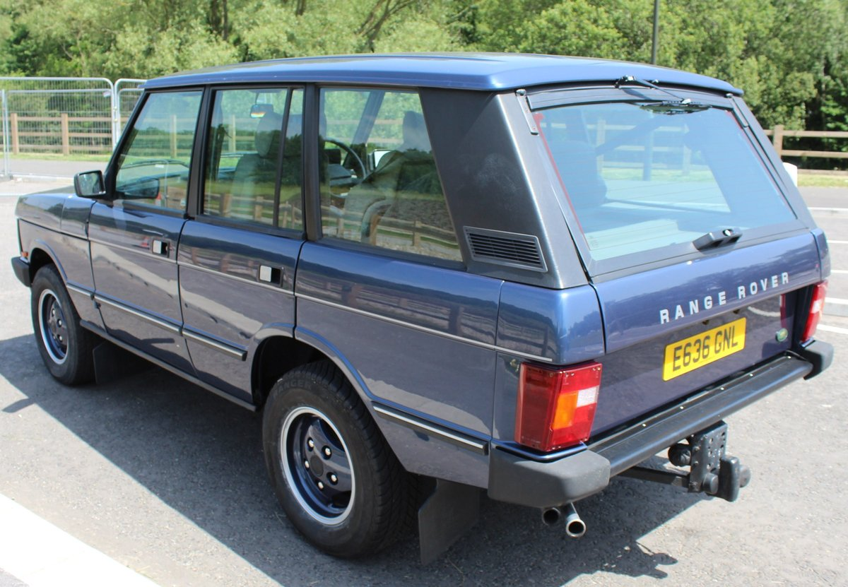 1987 Range Rover 3.5 EFi Automatic  Classic , Beautiful  For Sale (picture 3 of 6)