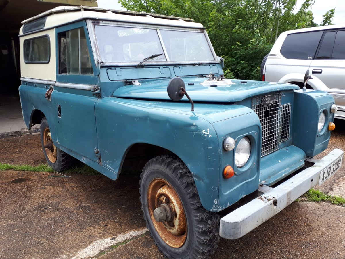 1970 LANDROVER SERIES 11a MALTESE CROSS * PETROL* For Sale (picture 1 of 6)