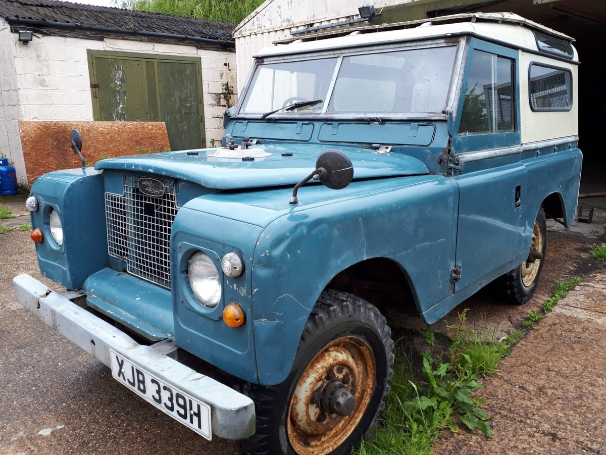 1970 LANDROVER SERIES 11a MALTESE CROSS * PETROL* For Sale (picture 2 of 6)