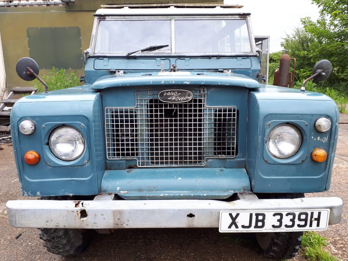 1970 LANDROVER SERIES 11a MALTESE CROSS * PETROL* For Sale (picture 3 of 6)