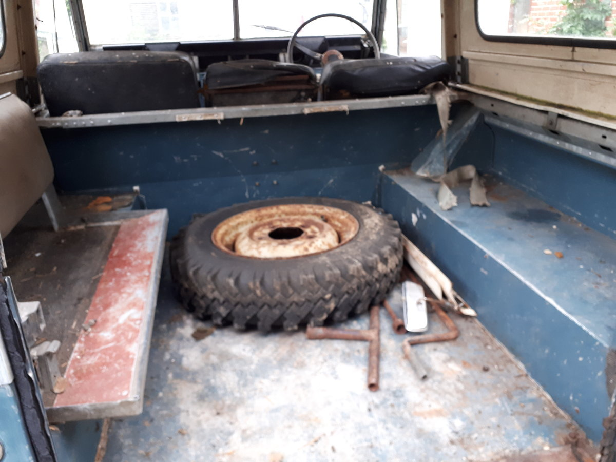 1970 LANDROVER SERIES 11a MALTESE CROSS * PETROL* For Sale (picture 6 of 6)