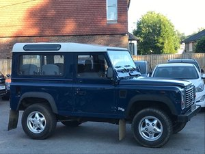 2001 LAND ROVER DEFENDER 90 2.5 TD5 COUNTY [6 SEATS] - LHD  For Sale
