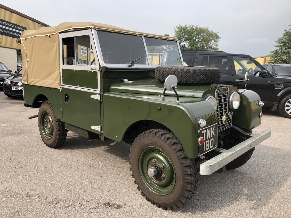 1957 Superb Land Rover Series One Diesel Utility For Sale (picture 1 of 6)