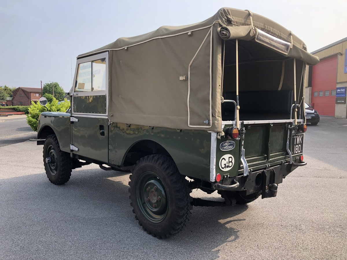 1957 Superb Land Rover Series One Diesel Utility For Sale (picture 2 of 6)