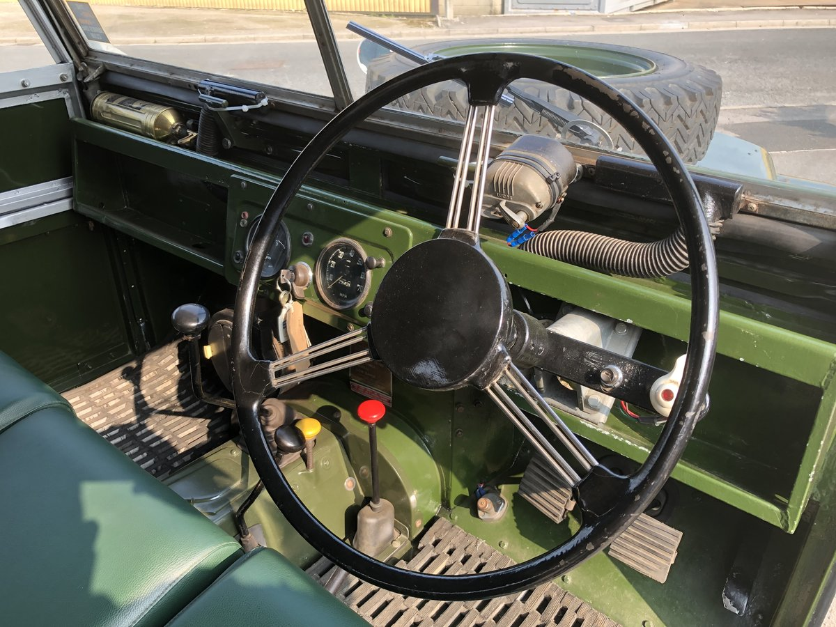 1957 Superb Land Rover Series One Diesel Utility For Sale (picture 3 of 6)