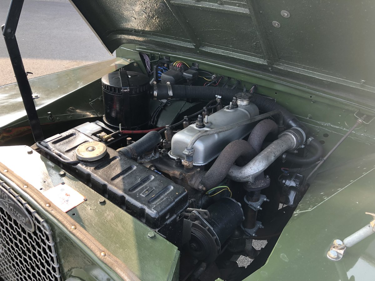 1957 Superb Land Rover Series One Diesel Utility For Sale (picture 4 of 6)