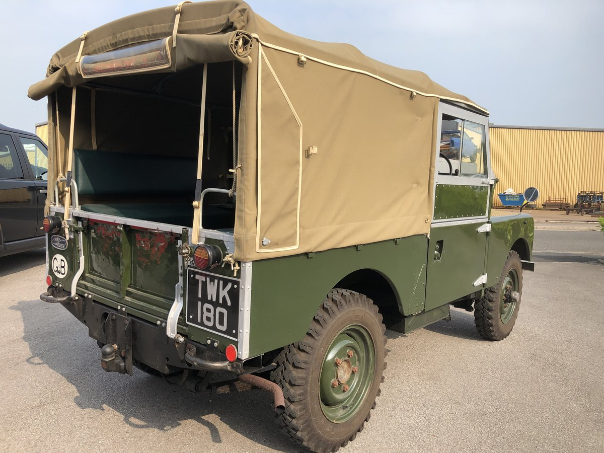 1957 Superb Land Rover Series One Diesel Utility For Sale (picture 5 of 6)