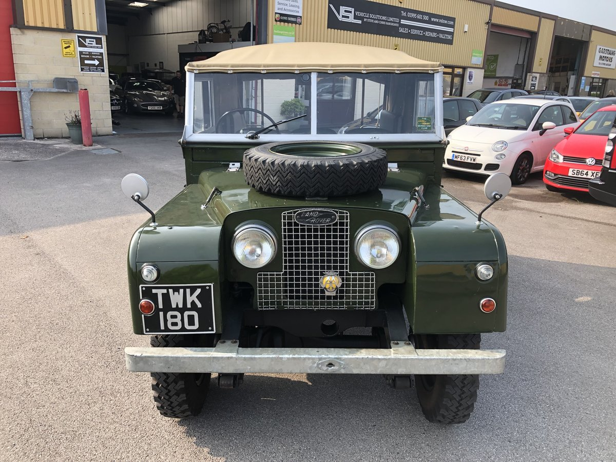 1957 Superb Land Rover Series One Diesel Utility For Sale (picture 6 of 6)