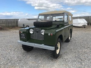 1962 Land Rover® Series 2a *High-Spec* (UXW) RESERVED SOLD