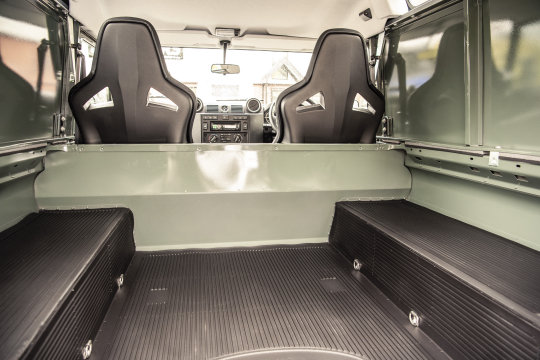 2015 Land Rover Defender 90 Hard Top For Sale (picture 4 of 6)