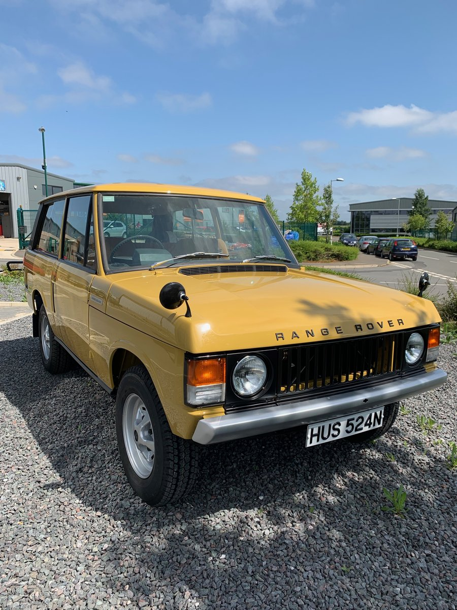1975 Range Rover 2dr Classic. 1 Owner. Full Bishops Restoration  For Sale (picture 1 of 5)
