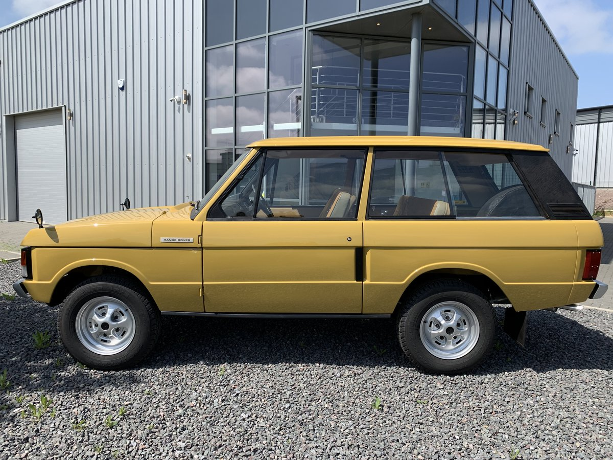 1975 Range Rover 2dr Classic. 1 Owner. Full Bishops Restoration  For Sale (picture 2 of 5)
