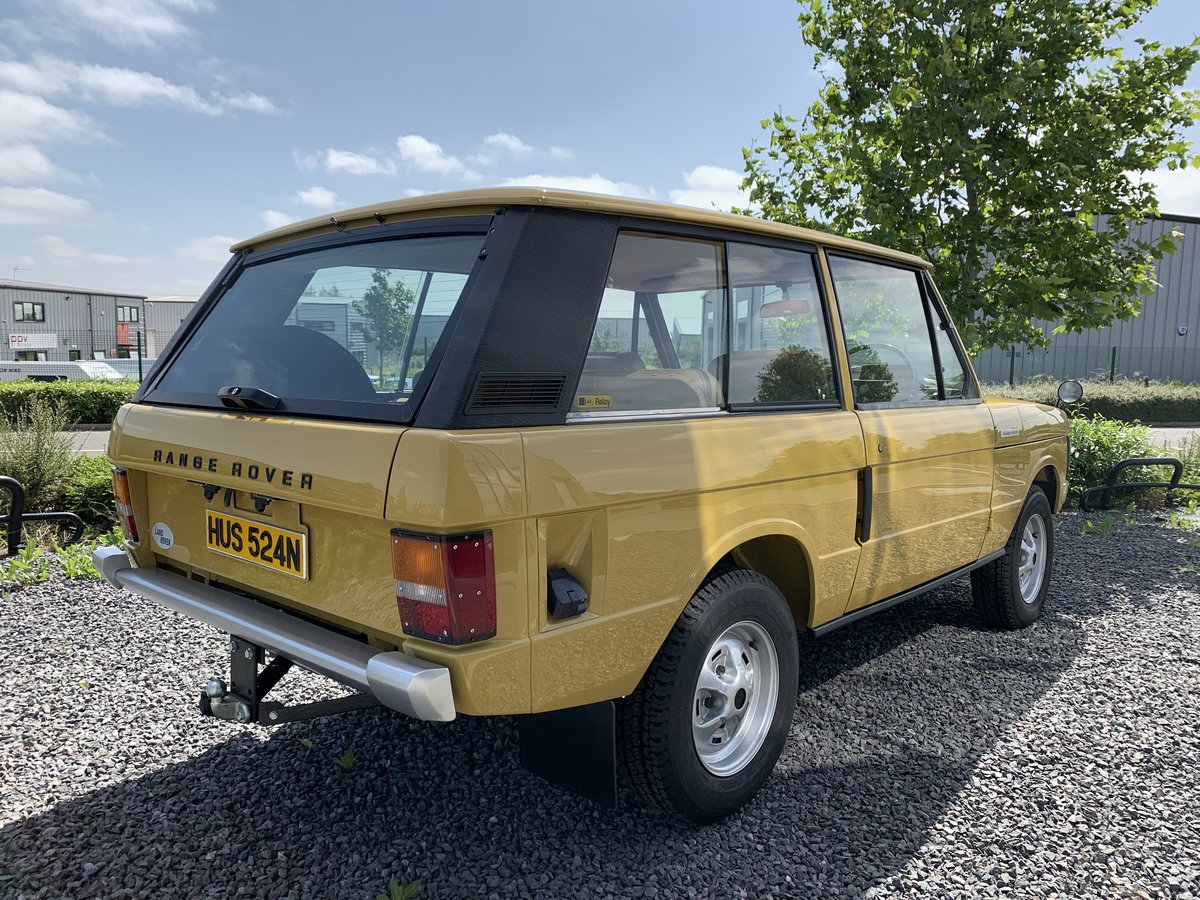 1975 Range Rover 2dr Classic. 1 Owner. Full Bishops Restoration  For Sale (picture 3 of 5)