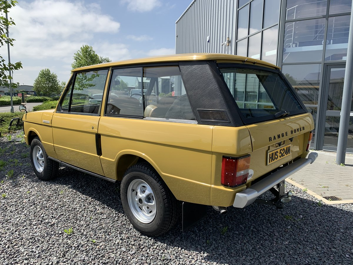 1975 Range Rover 2dr Classic. 1 Owner. Full Bishops Restoration  For Sale (picture 5 of 5)