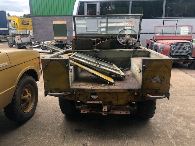 """1950 Land Rover Series One 80"""" Lights Behind The Grille SOLD (picture 5 of 6)"""