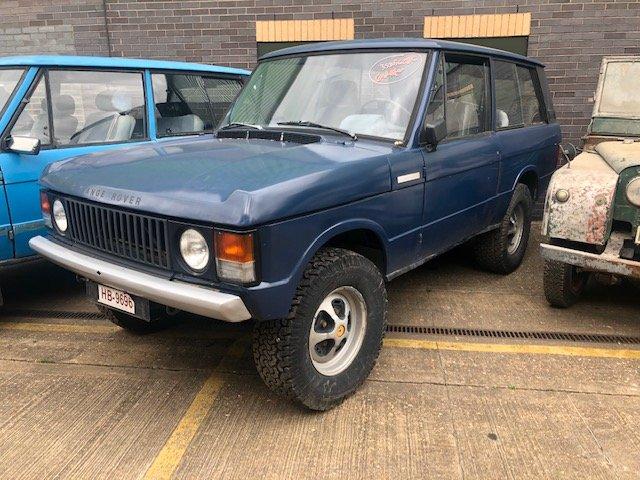 1974 Classic Range Rover. Rare Suffix C  SOLD (picture 1 of 6)