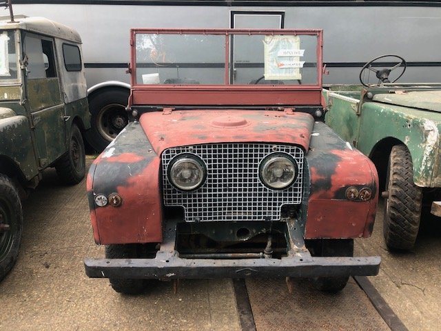 "1951 Land Rover Series One 80"" Lights Through The Grille SOLD (picture 2 of 6)"