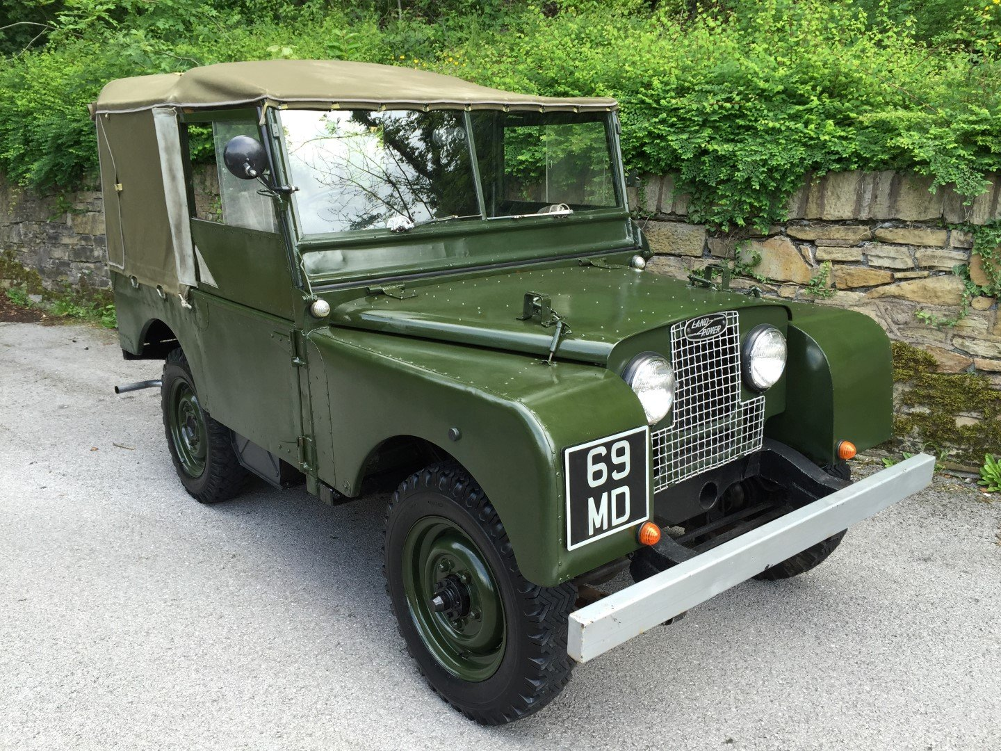 1951 LAND ROVER series one SWB 80 INCH  For Sale (picture 1 of 6)
