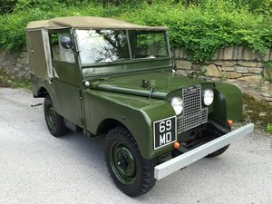 1951 LAND ROVER series one SWB 80 INCH