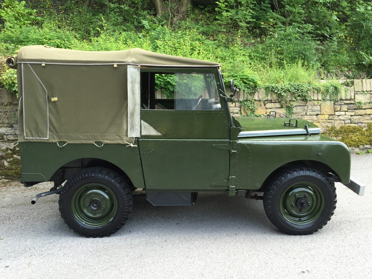 1951 LAND ROVER series one SWB 80 INCH  For Sale (picture 2 of 6)