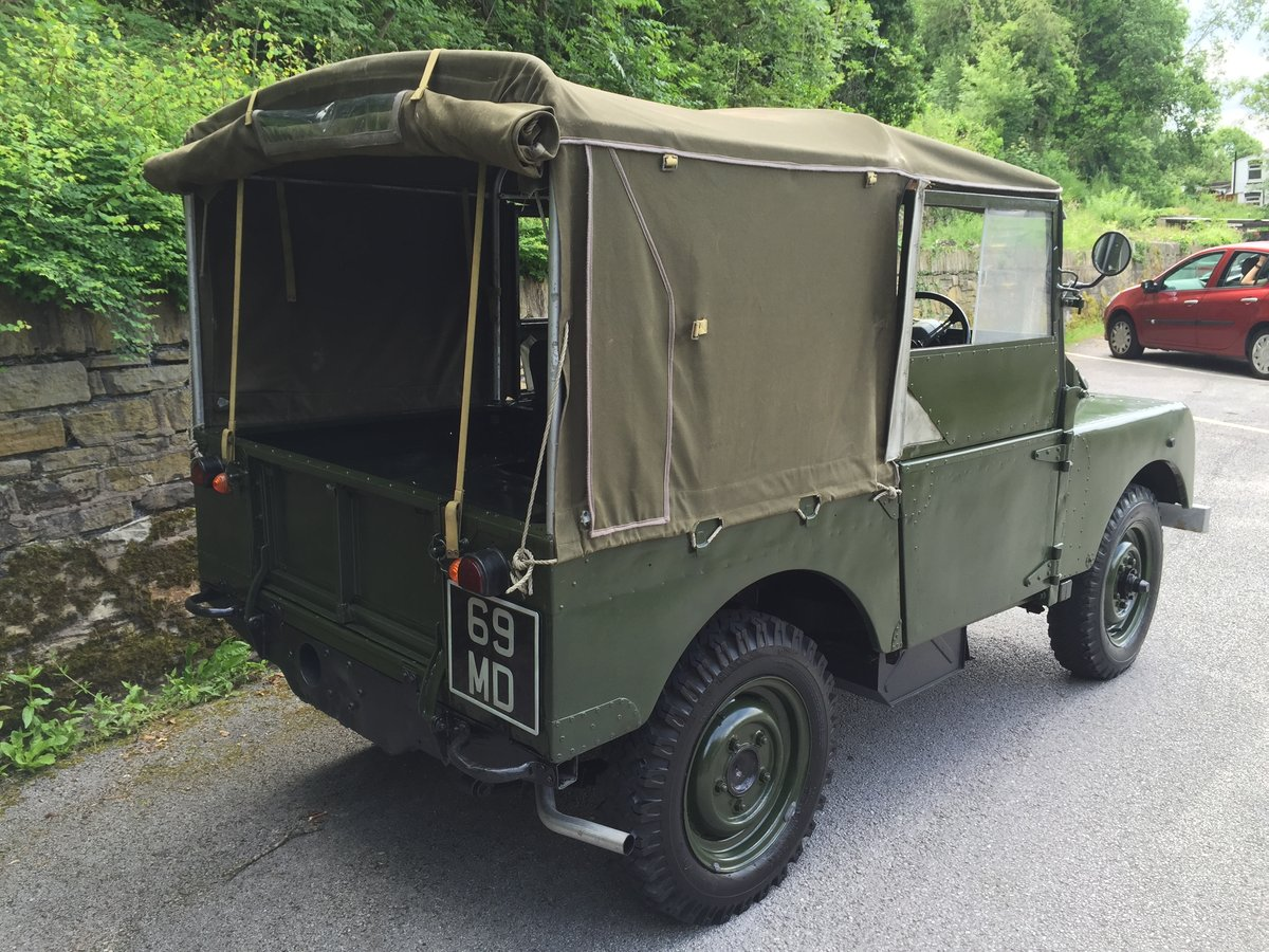 1951 LAND ROVER series one SWB 80 INCH  For Sale (picture 3 of 6)