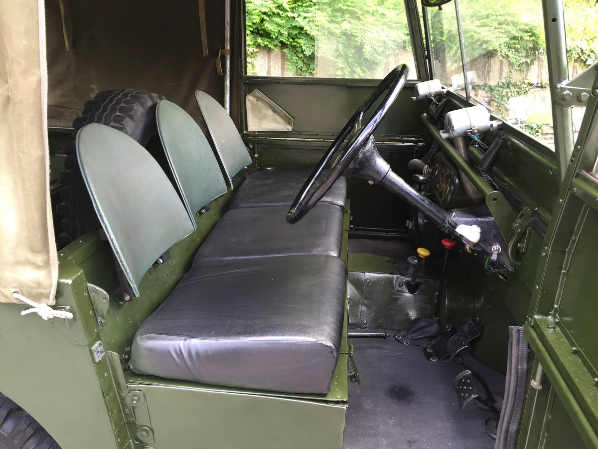 1951 LAND ROVER series one SWB 80 INCH  For Sale (picture 4 of 6)