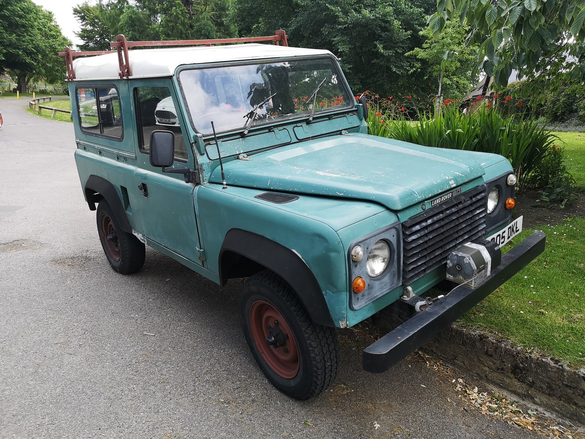 1985 LAND ROVER DEFENDER 90 200 TDI For Sale (picture 1 of 6)