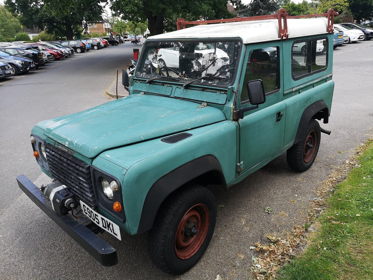 1985 LAND ROVER DEFENDER 90 200 TDI For Sale (picture 2 of 6)