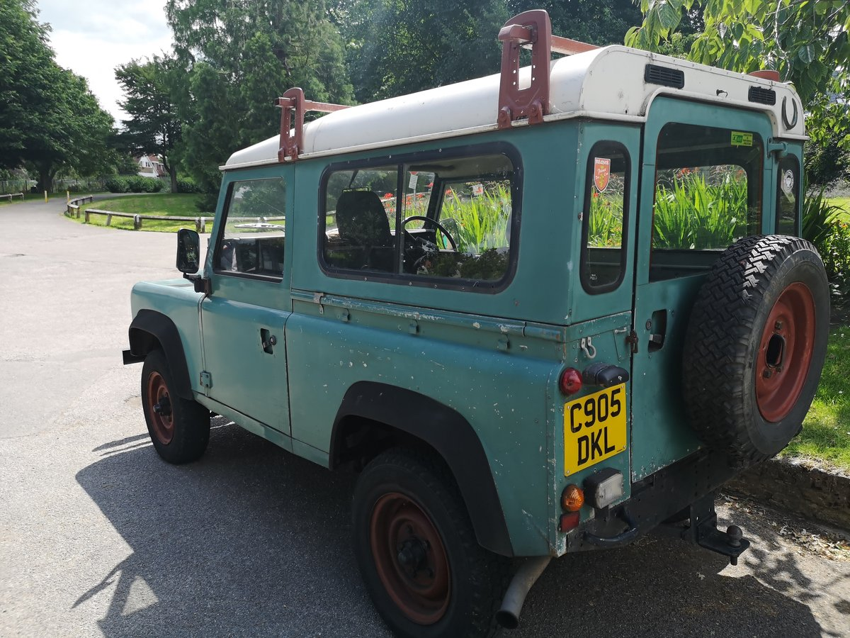 1985 LAND ROVER DEFENDER 90 200 TDI For Sale (picture 4 of 6)