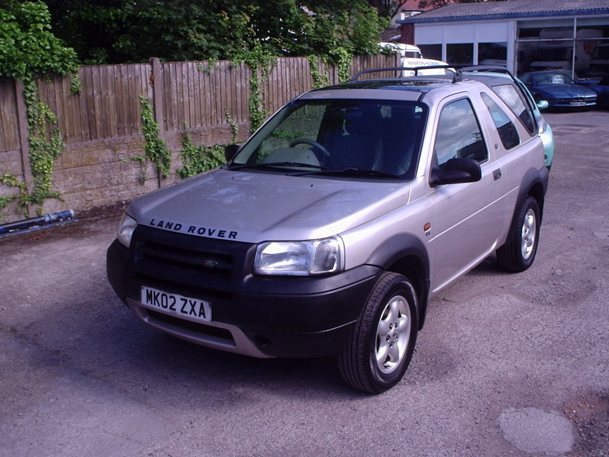 2002 Landrover Freelander with GAS CONVERSION For Sale (picture 2 of 6)