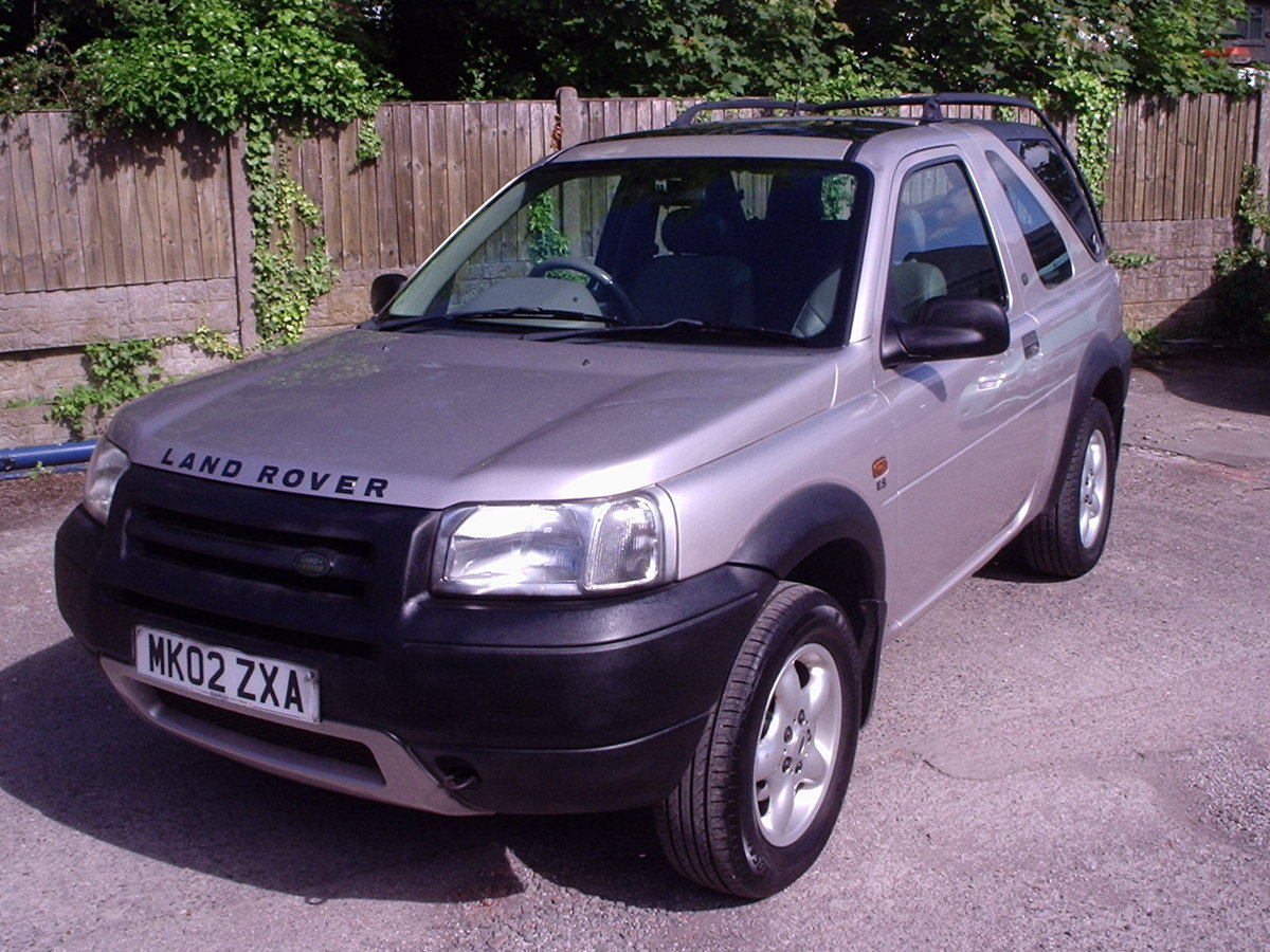 2002 Landrover Freelander with GAS CONVERSION For Sale (picture 3 of 6)