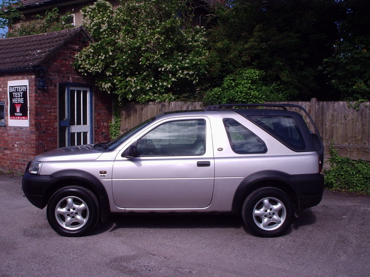2002 Landrover Freelander with GAS CONVERSION For Sale (picture 4 of 6)