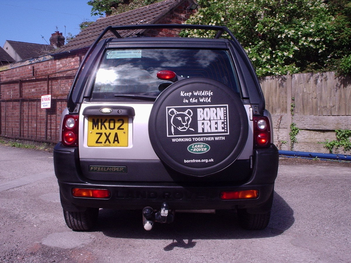 2002 Landrover Freelander with GAS CONVERSION SOLD (picture 5 of 6)