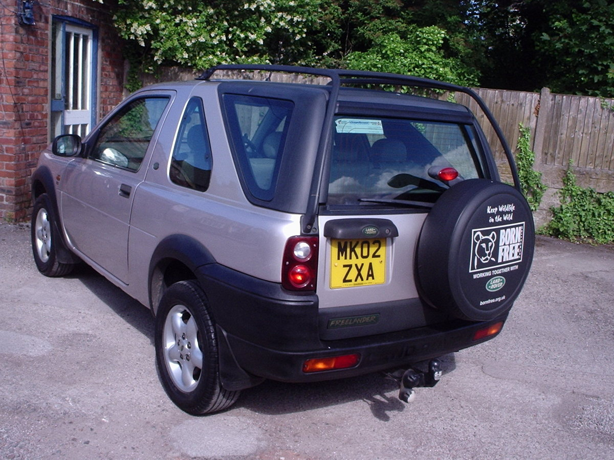 2002 Landrover Freelander with GAS CONVERSION For Sale (picture 6 of 6)