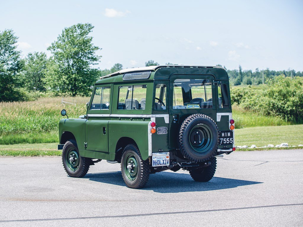 1966 Land Rover Series IIA 88 For Sale by Auction (picture 2 of 6)