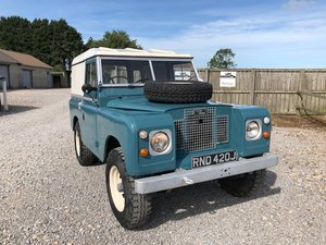 1971 Land Rover® Series 2a *Rare Crossover Model* (RND) SOLD