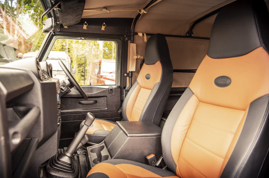 2015 Land Rover Defender 90 - Soft Top Conversion For Sale (picture 2 of 6)