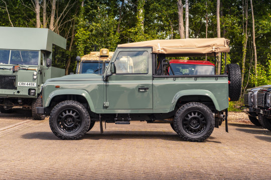 2015 Land Rover Defender 90 - Soft Top Conversion For Sale (picture 3 of 6)