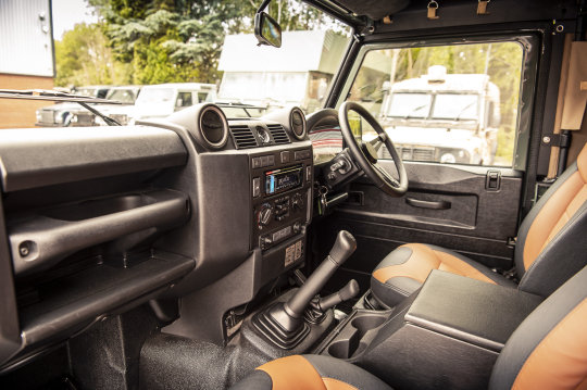 2015 Land Rover Defender 90 - Soft Top Conversion For Sale (picture 5 of 6)