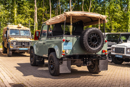 2015 Land Rover Defender 90 - Soft Top Conversion For Sale (picture 6 of 6)